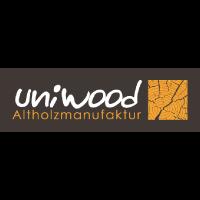 Logo von uniwood Holzmanufaktur aus dem Sortiment für Wand und Decke von BWE in Unterschleißheim.