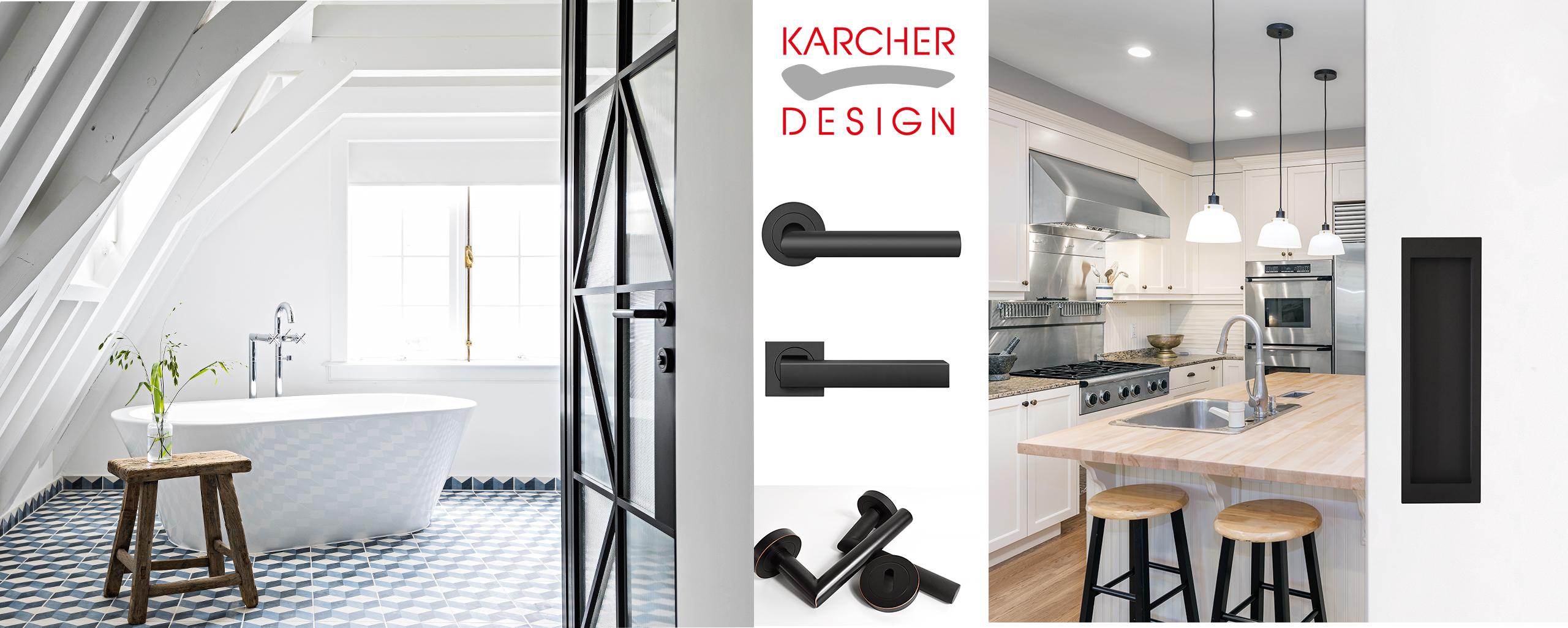Karcher, Designtürgriffe Black Edition | BWE, Unterschleißheim, Header