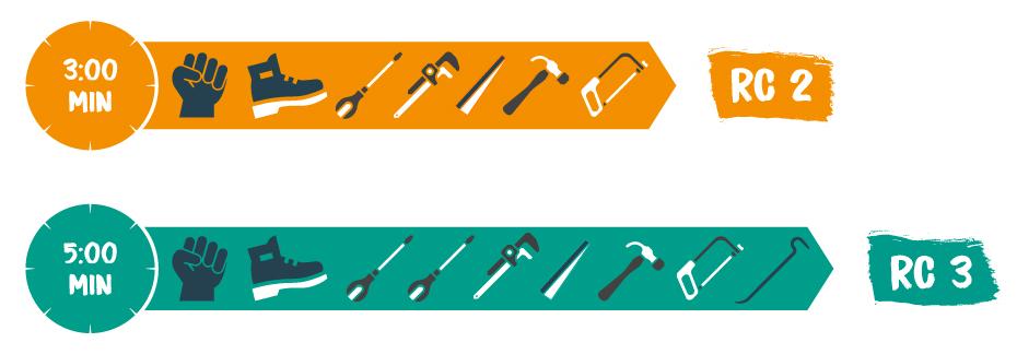 Anforderungen an Haustüren und Fenster in den Widerstandsklassen RC 2 und RC 3.