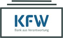 Symbol für Geldscheine zur Förderung von Sanierungsmaßnahmen durch die KfW-Bank.
