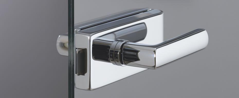 Stilsichere Drückergarnituren für Ihre Glastür bei BWE in Unterschleißheim.