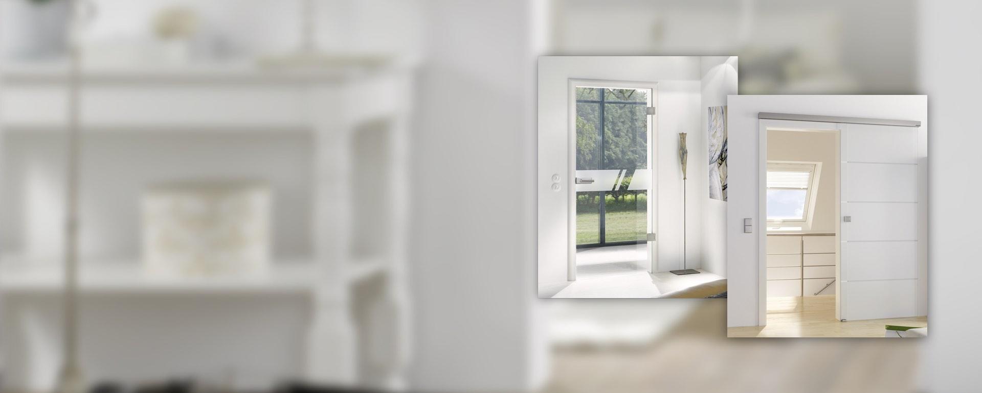 Glastüren für modernes Wohnen bei BWE in Unterschleißheim.