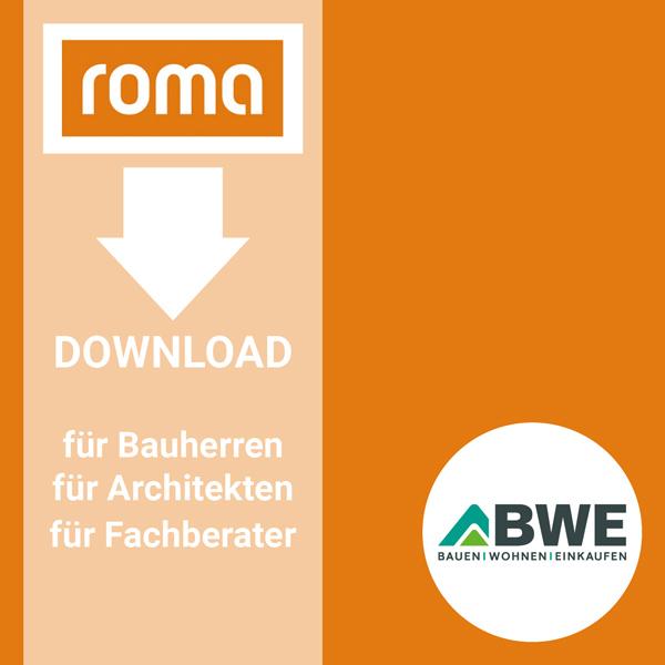 Onlinekonfigurator: Downloadbereich von Roma | BWE in Unterschleißheim