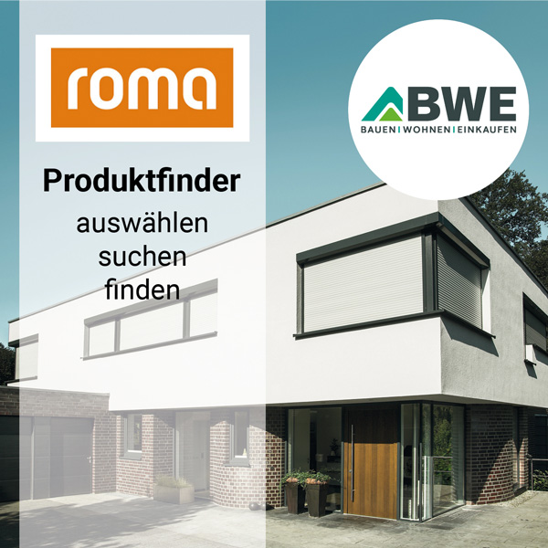 Onlinekonfigurator: Produktfinder von Roma | BWE in Unterschleißheim