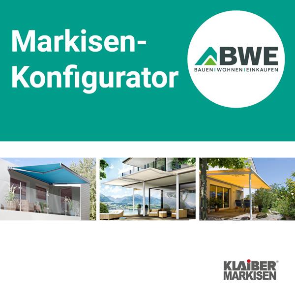 KLAIBER Markisen-KOnfigurator | BWE, Unterschleißheim