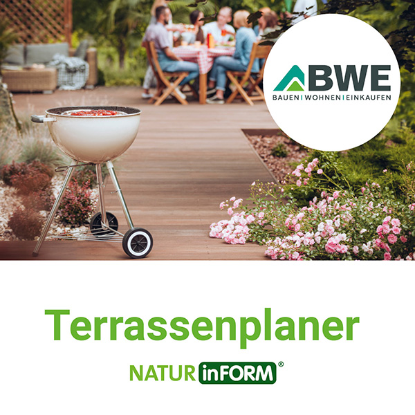 Terrassenplaner NATURinFORM | BWE, Unterschleißheim