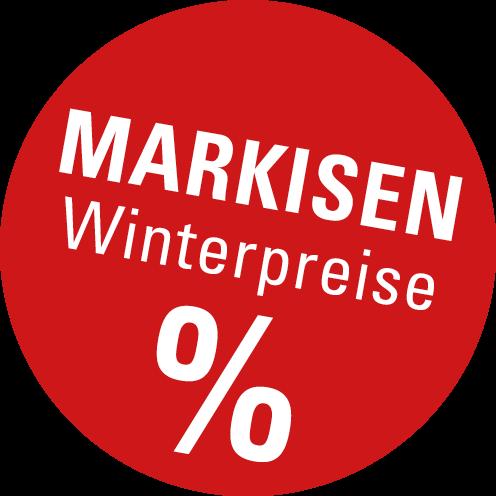 Rabattbutton Winteraktion 2020 Leiner Markisen | BWE, Unterschleißheim