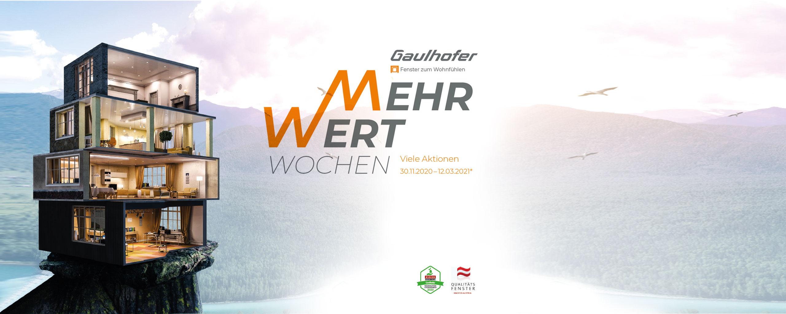 Homepage Slider Gaulhofer Mehrwertwochen 2020/2021 | BWE, Unterschleißheim