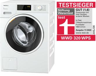 Miele-Waschmaschine-WWD-320-WPS - Testsieger | BWE, Unterschleißheim