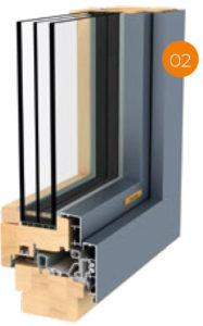 Gaulhofer Mehrwertwochen Fusionline Holz-Alu-Fenster | BWE, Unterschleißheim