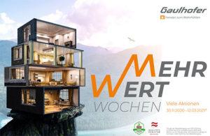 Flyer Gaulhofer Mehrwertwochen | BWE, Unterschleißheim