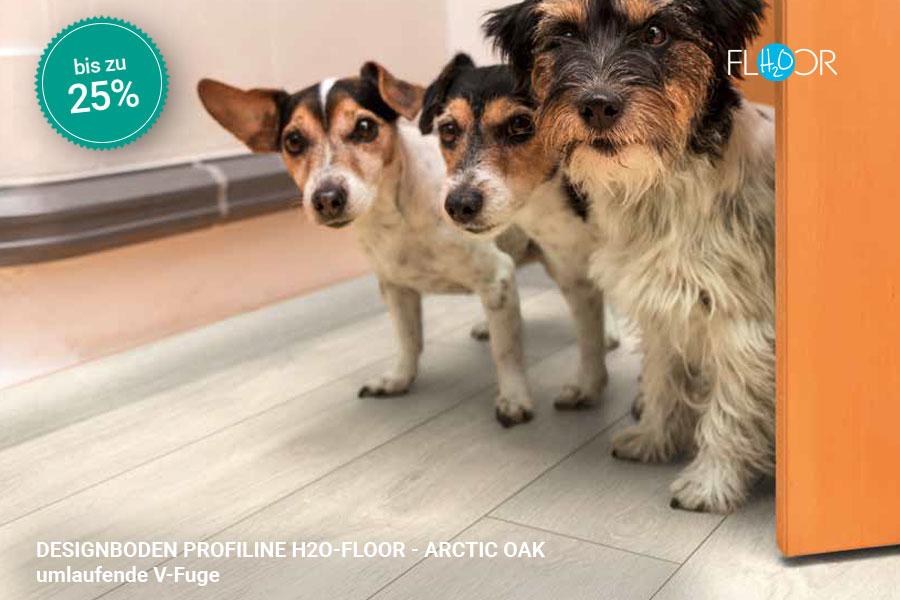 Rabattaktion Boden Topseller Profiline Designboden Arctic Oak | BWE, Unterschleißheim