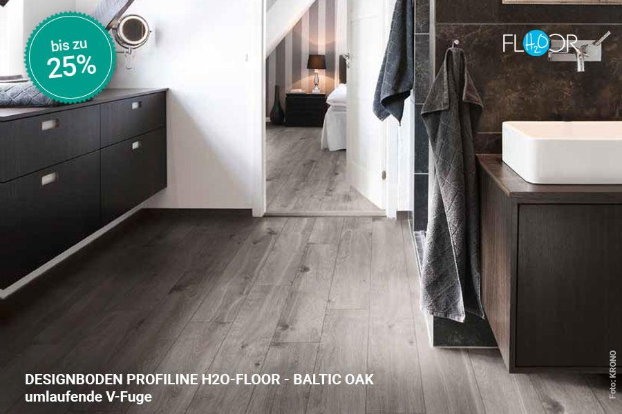 Rabattaktion Boden Topseller Profiline Designboden Baltic Oak | BWE, Unterschleißheim