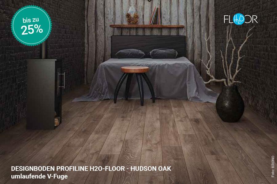 Rabattaktion Boden Topseller Profiline Designboden Hudson Oak | BWE, Unterschleißheim