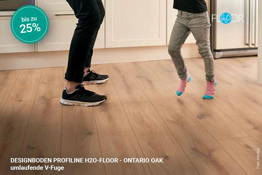 Rabattaktion Boden Topseller Profiline Designboden Ontario Oak | BWE, Unterschleißheim