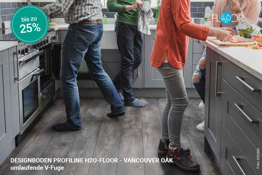 Rabattaktion Boden Topseller Profiline Designboden Vancouver Oak | BWE, Unterschleißheim