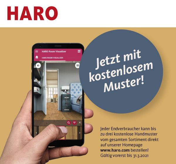 Onlinekonfigurator: Haro Bodendesigner | BWE, Unterschleißheim