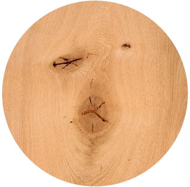 Muster für Maserung Massivholzplatte Eiche | BWE, Unterschleißheim