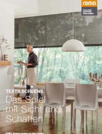Prospekt ROMA Textilscreens | BWE, Unterschleißheim