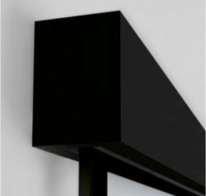 LinesPlus Schiebetürsystem tvin 2 schwarz | BWE, Unterschleißheim