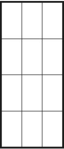 Glastür LinesPlus typ 12 schwarz | BWE, Unterschleißheim