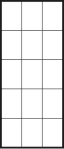 Glastür LinesPlus typ 15 schwarz | BWE, Unterschleißheim