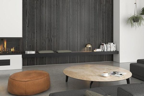 WoodUpp Akustikpaneele Stimmungsaufnahme Eiche Rustikal Grau   BWE, Unterschleißheim